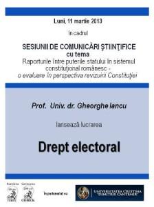 drept electoral beck
