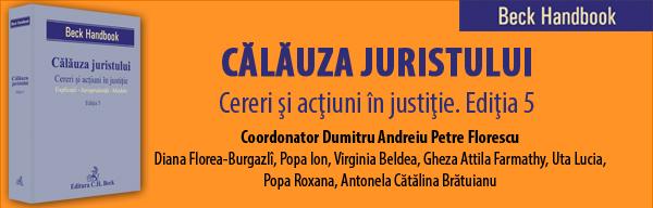 Calauza juristului. Cereri si actiuni in justitie. Editia 5