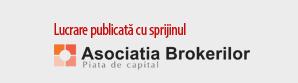 Lucrare publicata cu sprijinul Asociatia Brokerilor