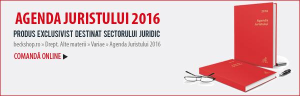 Agenda Juristului 2016