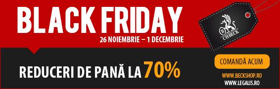 Black Friday 2015 vine cu reduceri de până la 70% la produsele marca C.H. Beck