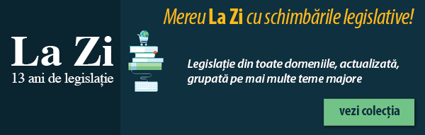 La Zi  – 13 ani de legislație actualizată