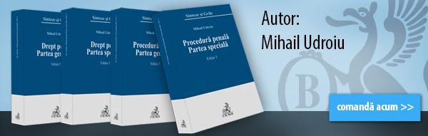 Sinteze de drept penal – Mihail Udroiu