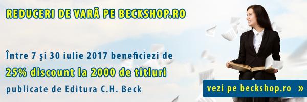 Reduceri de vară pe Beckshop.ro