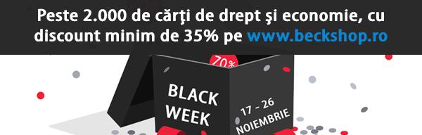 Black Week 2017 la Editura C.H. Beck