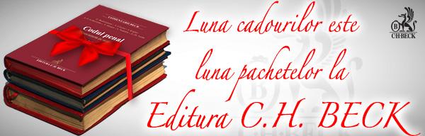 Luna decembrie este luna pachetelor la Editura C.H. Beck