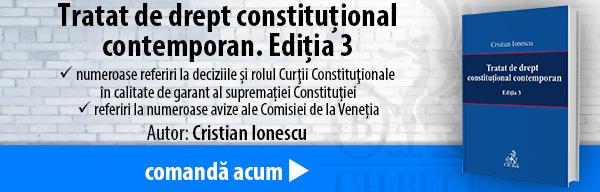Tratat de drept constituțional contemporan. Ediția 3