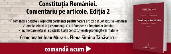 Constituția României. Comentariu pe articole. Ediția 2