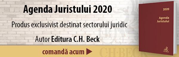 Agenda Juristului 2020