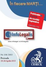 Infolegalis nr. 138/2015