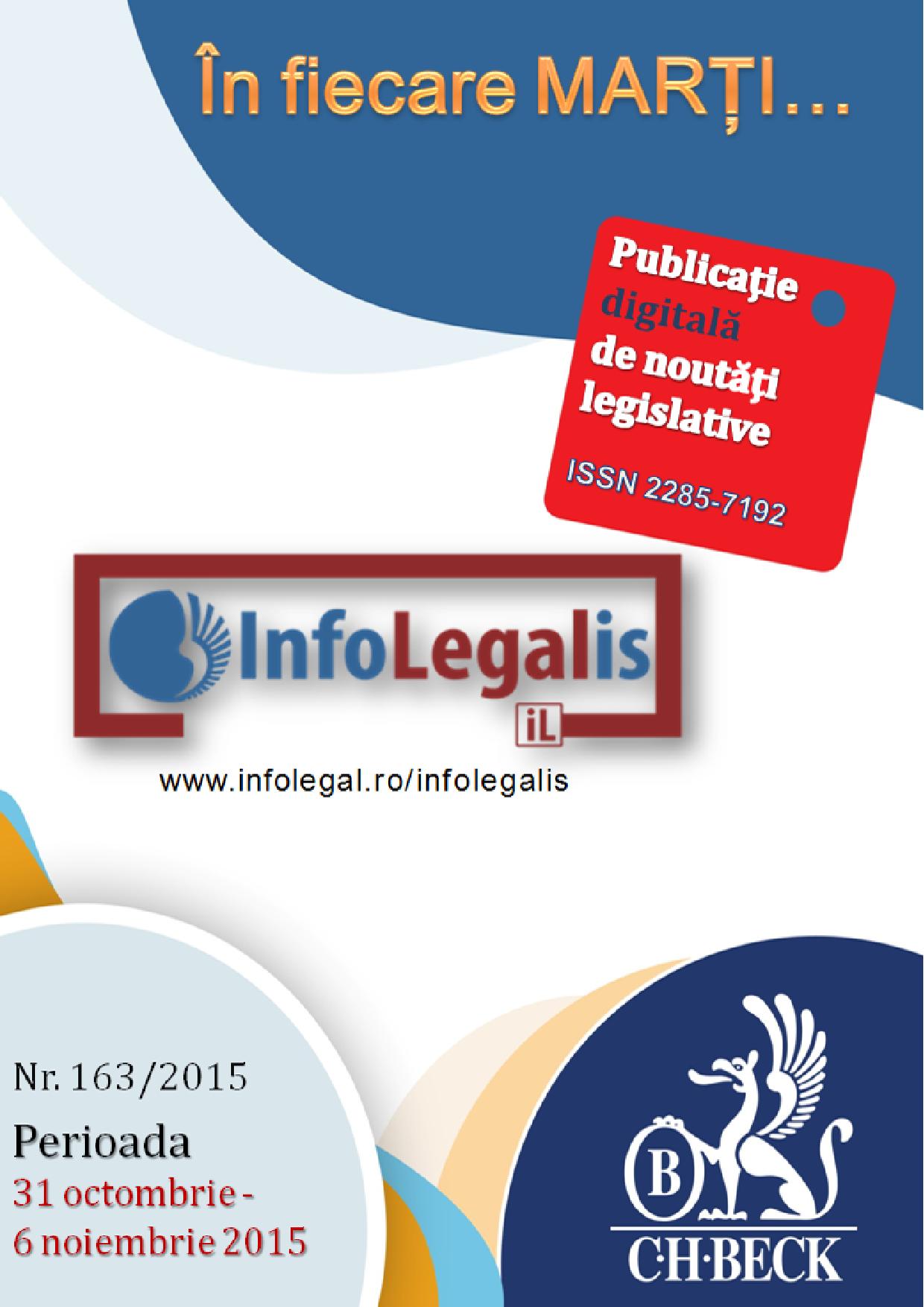 InfoLEGALis 163/2015
