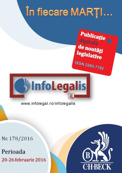 InfoLEGALis 178/2016