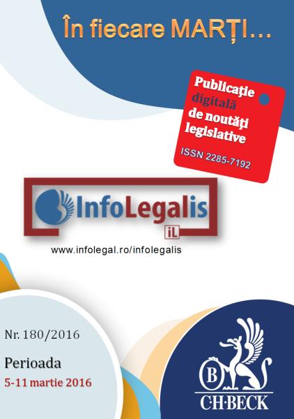 InfoLEGALis 180/2016