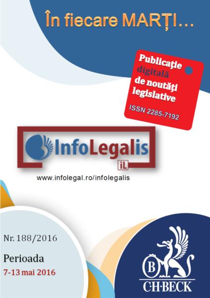 Infolegalis nr. 188/2016