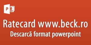 Ratecard C.H. Beck