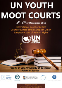 UN Youth Moot Courts 2015 Poster