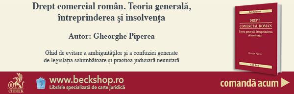 Drept comercial român. Teoria generală, întreprinderea şi insolvenţa