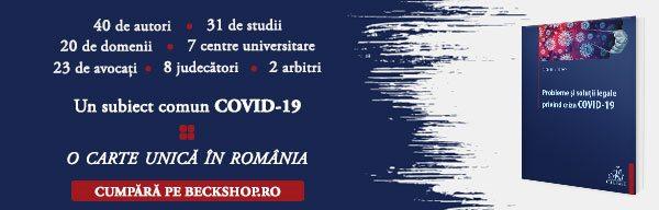 Probleme și soluții legale privind criza COVID-19